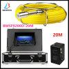 De Camera van het Systeem 1200tvl van de Inspectie van het Afvoerkanaal van de pijpleiding met 4GB de Kaart van BR