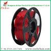 De flexibele 3.0mm Doorzichtige Rode 3D Gloeidraad van de Druk voor 3D Printer