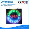 Muestra china cuadrada del alimento LED de la protección del medio ambiente de Hidly