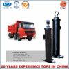 Cilindro hidráulico telescópico do Fe da garantia de 1 ano para a descarga do Tipper