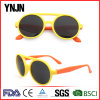 Promoción Cheap Wholesale Unisex redondo de plástico de los niños las gafas de sol