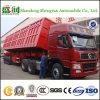 الصين حارّ عمليّة بيع 3 محور العجلة [60تون] جانب شاحنة قلّابة [دومب تروك] مقطورة