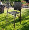 藤または枝編み細工品棒椅子のビストロの一定の藤の家具