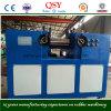 Laboratório de borracha do rolo de duas máquinas da fábrica de mistura