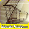 Steel inoxidable Staircase Handrial pour Indoor Stairs
