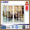 Алюминиевый балкон сдвижной двери двери Складные двери