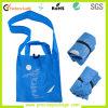 熱い販売の方法再使用可能な印刷されたFoldableショッピング非編まれたショルダー・バッグ