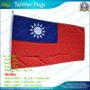 90X180cm 160GSM Spun Polyester Taiwan Flag (NF05F09019)