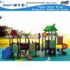 Equipamento ao ar livre barato HD-Tsh004 do jogo da corrediça das crianças do campo de jogos