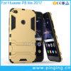 Аргументы за Huawei P8 Lite 2017 мобильного телефона Kickstand человека утюга