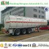 3 ESSIEUX 46cbm pétrolier carburant/huile semi-remorque pour les ventes