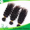 Глубокое Wave Human Virgin Peruvian Hair для конкурентоспособной цены