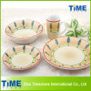 16PCS Stoneware Handpainted Dinner Set (TS019-018)