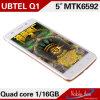 teléfono elegante HD calidad estupenda de la cámara 16MP+13MP de 5inch de la mejor (UBTEL Q1)