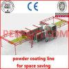 Kompakte manuelle Puder-Beschichtung-Zeile
