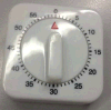 Materia plastica del temporizzatore del meccanico di disegno semplice