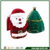 Santa bella e contenitore di regalo di plastica di figura dell'albero di Natale