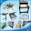6 nécessaire de fournisseur d'Equipment& d'impression d'écran de station de la couleur 6