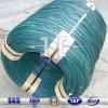 El verde alambre recubierto de PVC