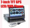 7  reproductores de DVD /Exteranl GPS del coche de la En-Rociada del dinar de la pantalla táctil 1