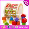 Giocattoli di legno di figura dei nuovi blocchetti multifunzionali di disegno per i bambini W12D066