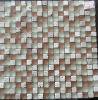 Mosaico del vidrio cristalino de la mezcla de la piedra del azulejo de mosaico (HGM359)