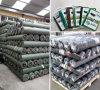 Couverture au sol de pp, tissus de barrière de Weed, couvre-tapis de Weed dans le jardin de fraise