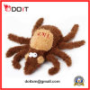 Furry Stuffed Peluche Spider Furry Animal Dog Toy Jouets pour animaux de compagnie
