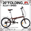 20 vélo se pliant de vitesse de la Chine 6 de pouce (WL-2031)
