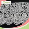 Новой типы шнурка гипюра цветка вычуры прибытия подгонянные вышивкой