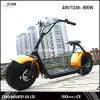 Scooter Elétrico Adulto sem Escova de alta qualidade de 1000W 62V / 12ah, Motocicleta Elétrica E-Scooter de 2 Rodas