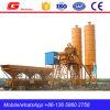 25m3/H Planta de lote de concreto portátil para venda Filipinas