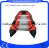 Rendu dans des canots en caoutchouc gonflables de délivrance de sport matériel de la Chine PVC/Hypalon rouge