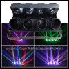 4 Haupt-RGBW LED Zylinder-heller beweglicher Kopf