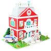 Puzzlespiel-Haus der Qualitäts-Großhandelskind-DIY 3D