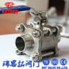 3PC Welded Ball Valve con Locking Device