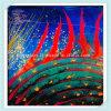 Peinture murale en verre multicolore pour décoration