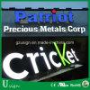 Le métal en acier inoxydable Frontlit LED lumineux en acrylique de signer des lettres de canal pour la publicité lumineuse