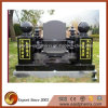Hot Sale Black Granite Tombstone / Headstone