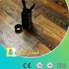 Suelo laminado V-Grooved grabado AC3 del roble del anuncio publicitario 12.3m m E0 HDF