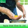 Перчатки ясного сметанообразного винила защитные