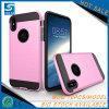 Caja dual a prueba de choques expresiva del teléfono celular de la capa de las opciones múltiples para el iPhone 8/X