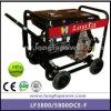 sistema de generador diesel eléctrico portable del marco abierto de 7kVA 8kVA pequeño