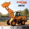 Затяжелитель колеса машинного оборудования Er35 Qingdao Everun с двигателем CE/стандартным ведром для сбывания