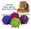 65mm Light up Spiky Bounce Ball