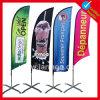 Рекламировать напольные флаги таможни пера пляжа