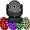36PCS LED Moving cabeza lavado Zoom escénica de iluminación