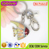최고 Sale Metal 14k Real Golden Plated Fish Fancy Keychains #15447