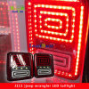 Serpente Type per Jeep Wrangler Jk LED Taillight