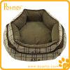 Cama oblonga reversível do animal de estimação da manta com descanso removível (PT38750)
